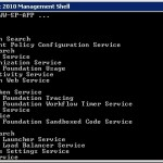 PowerShell Script to list services running on all servers in a farm