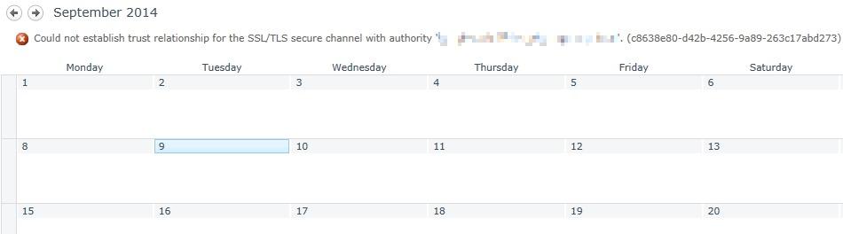 could not establish trust relationship for the ssl tls secure channel fiddler