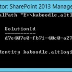 SharePoint 2013 - Sign in as a different user