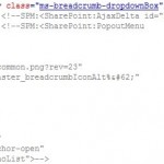 SharePoint 2013 - show the breadcrumbs