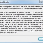 SharePoint Designer 2010 - The server could not complete your request